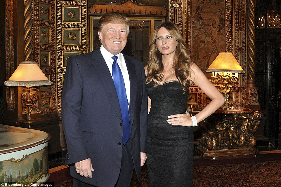 Image result for photos of trump celebrating christmas at mar-a-lago