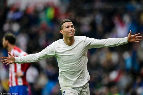 Real Madrid 2-1 Sporting Gijon: Cristiano Ronaldo double ...