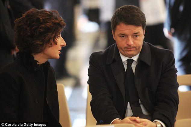 The upcoming vote on prime minister Matteo Renzi (pictured right) reforms will be thrown out by an 11 percentage point margin in the south of the country, according to a Demos poll