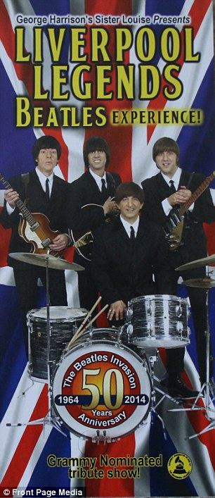 Today Louise is still linked to The Fab Four, managing a successful Beatles tribute act called the Liverpool Legends