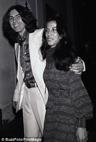 Almost a year to the day after George (pictured with Olivia in 1976) died, Louise was inexplicably cut off by George's estate
