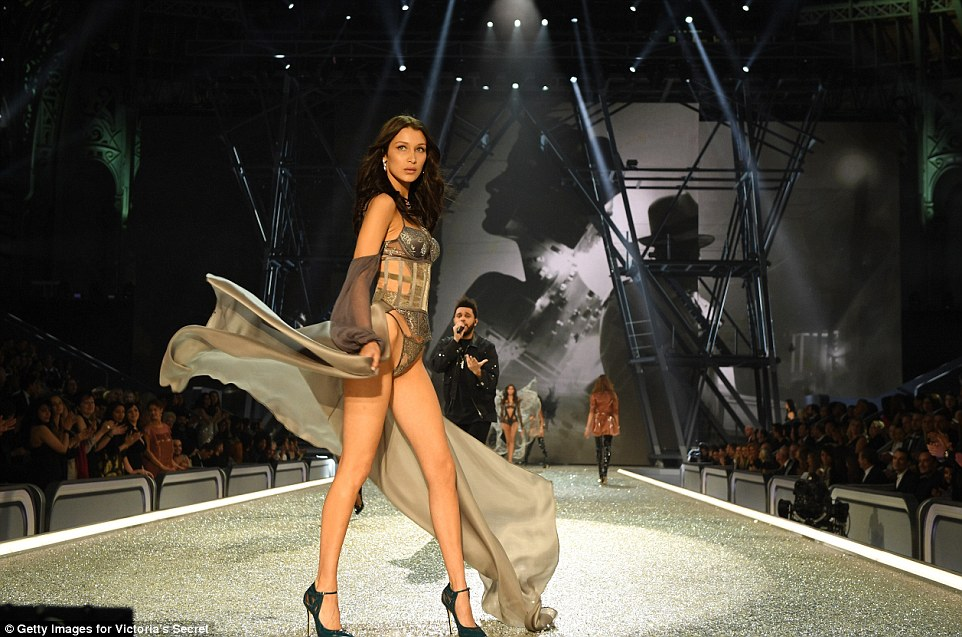 She looked as though she was trying to put him from her mind as she continued the walk to the end of the runway
