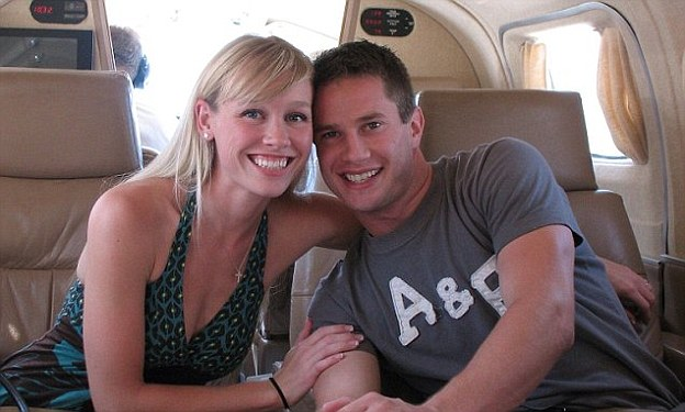 Happier times: Keith Papini with his wife Sherri before her abduction in October