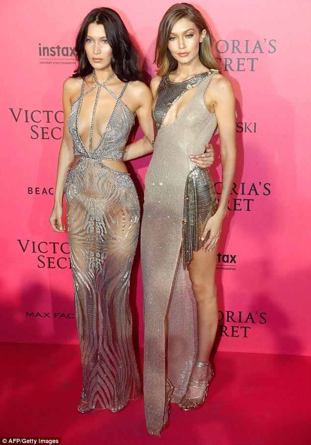 puro estilo: Parece governando a pista não foi suficiente para Bella e Gigi Hadid, como as irmãs continuaram a virar a cabeça para fora da pista