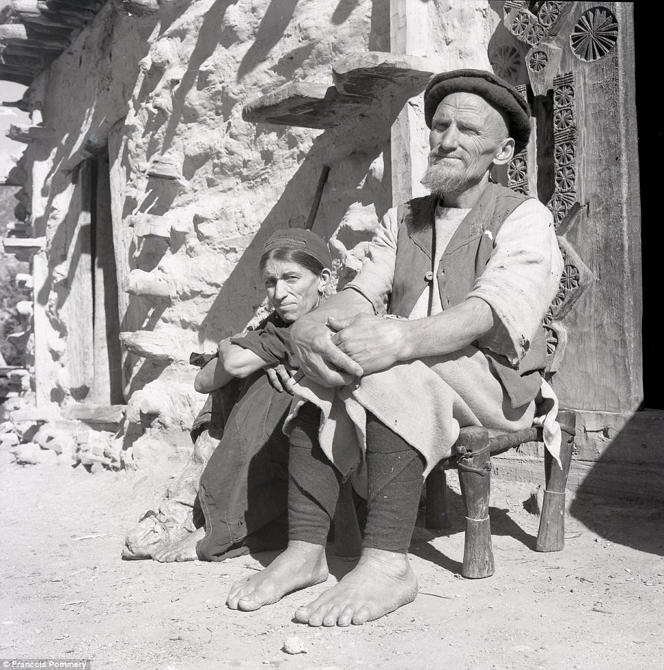 A couple in the village of Waigal, in the Want District of Nuristan Province, in 1969