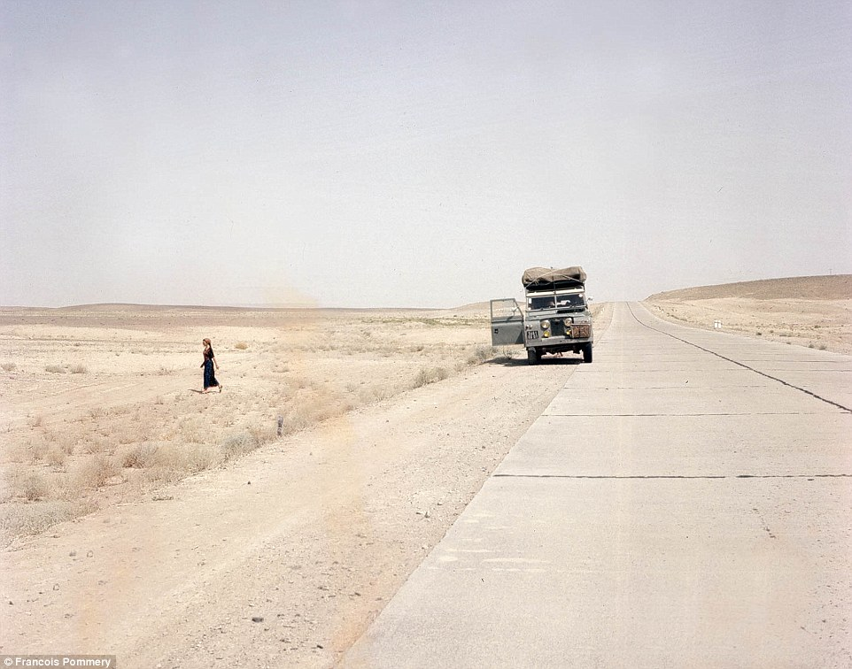 Some roads in Afghanistan are long and lonely - and run through barren landscapes with little respite from the heat