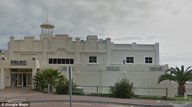 The Palais Hotel in Semaphore, Adelaide, where the alleged incident took place