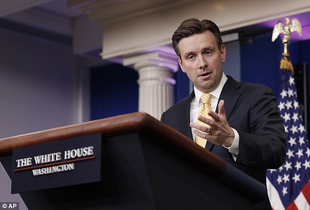 White House press secretary Josh EArnest said Monday that the Obama administration doesn't understand why Donald Trump upended nearly 40 years of U.S. foreign policy by speaking to Taiwan's president