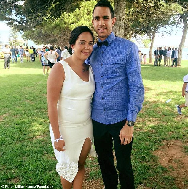 Aboriginal couple Peter Miller Koncz and his wife Kahlia claim they were refused entry to an Adelaide pub because of their skin colour
