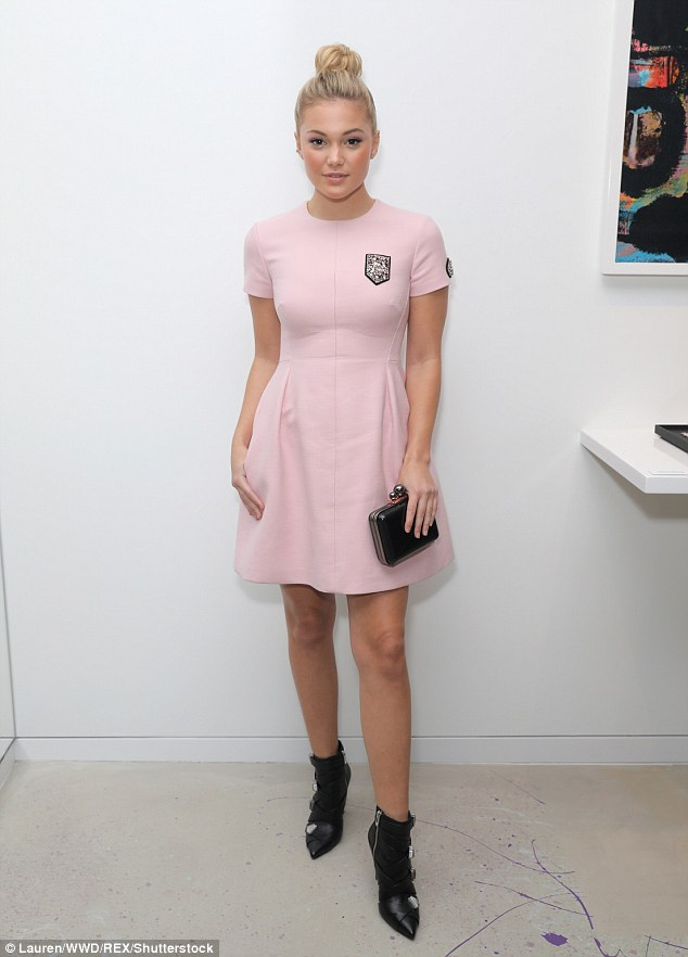 Jaime King Is Angelic As She Attends Dior Lady Pop Up In