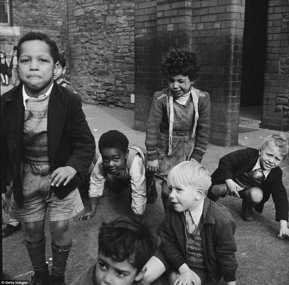 Image result for black immigrants england cardiff