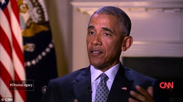 President Barack Obama says the color of his skin has 'absolutely' contributed to white Americans' negative perceptions of his time in office