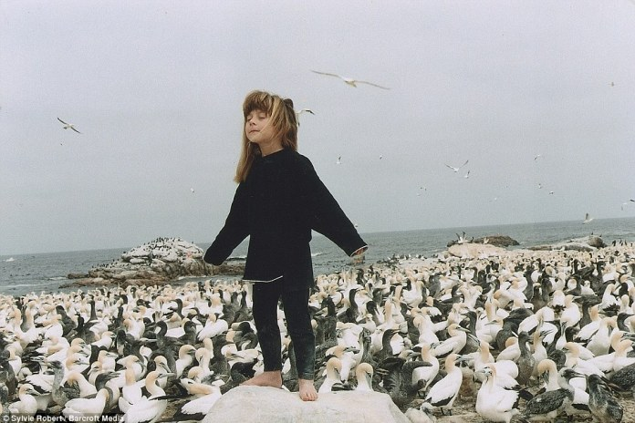 In Sea Bird Island in South Africa, Tippi has been branded the real life Mowgli after Rudyard Kipling's hero of The Jungle Book