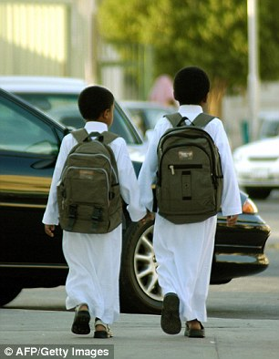 News of the new plans for schools provoked an angry reaction from some Saudi citizens on social media (file picture)