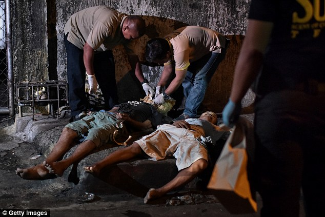 Manila has been getting fierce criticism from human rights activists over its state-sanctioned killings of suspected drug dealers