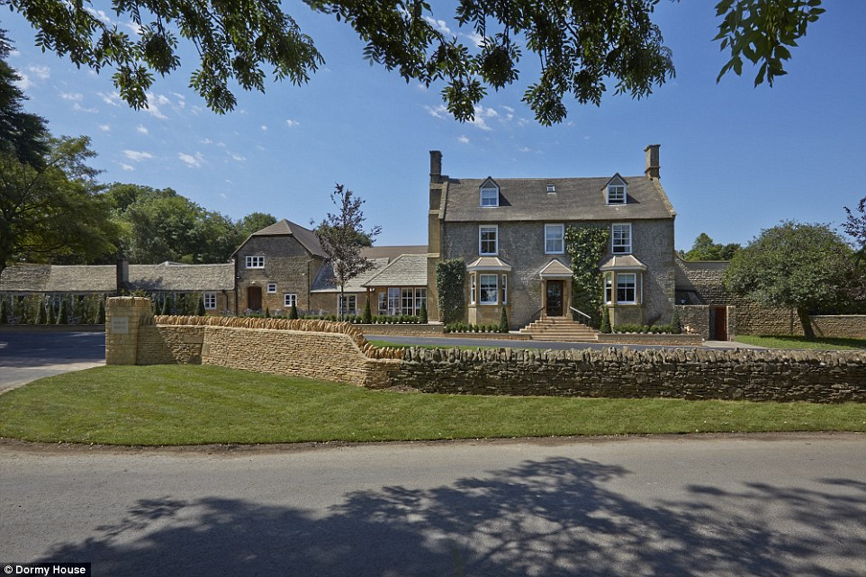 Rural retreat: Tucked away in a quiet corner of the Cotswolds, Dormy House Hotel offers the perfect country escape