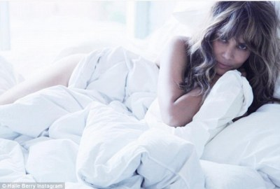 Social media accomplishment: Halle Berry took to Instagram on Sunday to reveal that she now has one million followers. Here she is looking exquisite as ever in her latest post