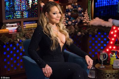 'I don¿t know her!' Mariah Carey is at her diva-best as she disses Ariana Grande and Demi Lovato (but says she 'loves' Britney Spears) on Watch What Happens Live on Sunday