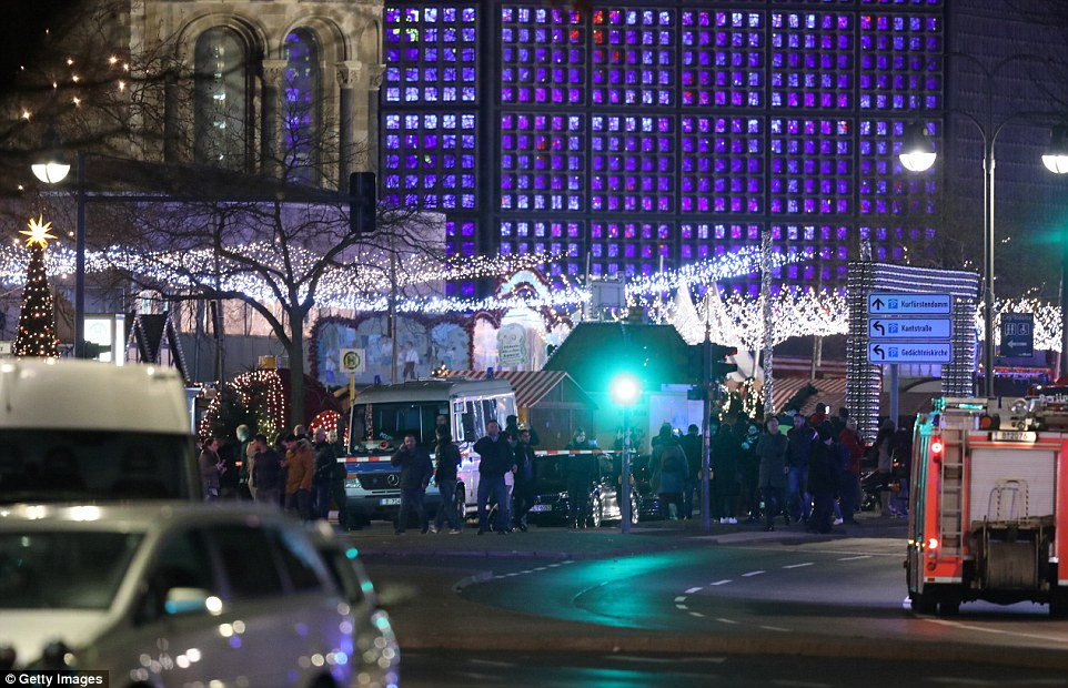 Several people have died while dozens have been injured as police investigate the alleged attack at a market outside the Kaiser Wilhelm Memorial Church