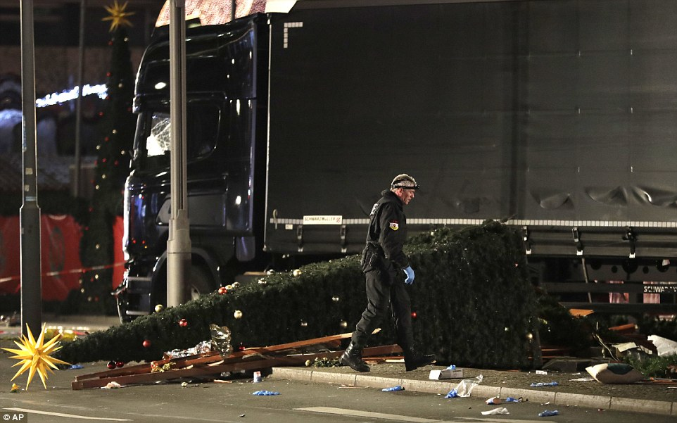 There were harrowing scenes on Monday evening in Berlin, after several people lost their lives just days before Christmas