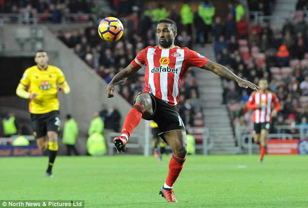 Sunderland have scored 15 times in the Premier League - Jermain Defoe has eight of them