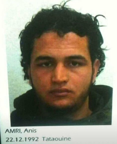 Amri, who was born in the desert town of Tataouine in 1992 – a well-known ISIS stronghold close to the Libyan border - was apparently recently arrested for GBH but vanished before he could be charged. He was also found with a fake passport
