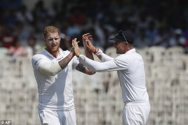 Ben Stokes (left) and Joe Root are both included after impressive years with England
