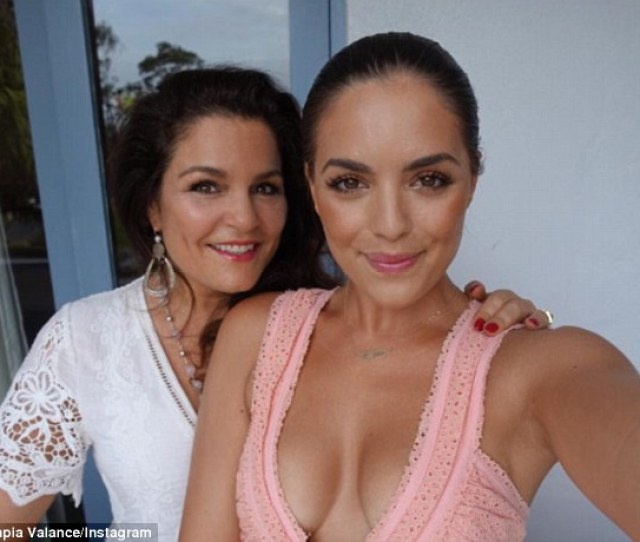 Olympia Valance Shared A Picture Of Herself And Her Mother Spending Time Together