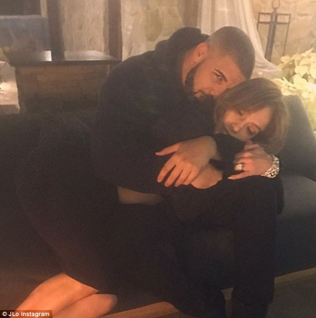 Confirmed? Jennifer Lopez and Drake appeared to confirm their relationship on Tuesday, when they posted a cuddling picture to Instagram