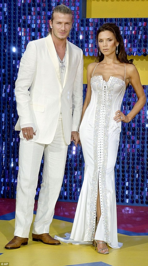 Flashback: The couple (here in May 2003) have also developed their sense of style