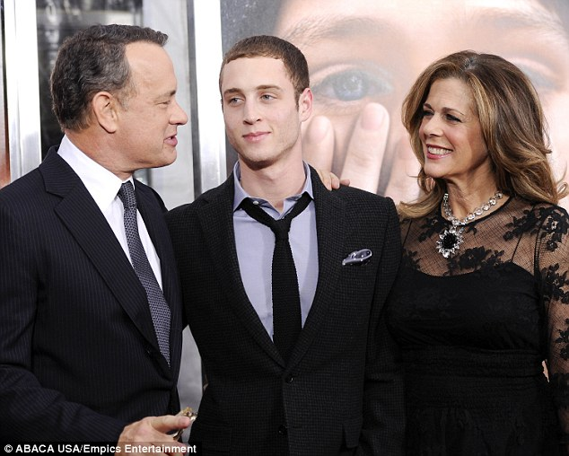 Family affair: Tom, Chet and Rita are shown in December 2011 in New York City