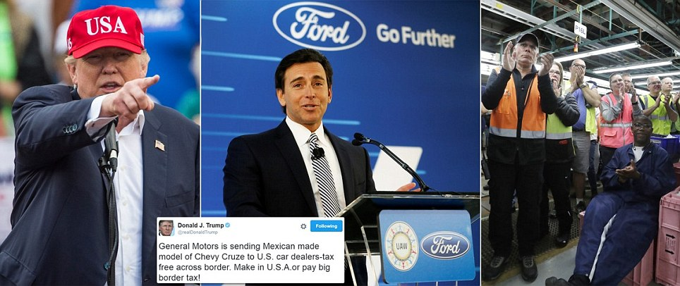 Ford Motors cancels $1.6bn plant in Mexico and extends operations in Michigan