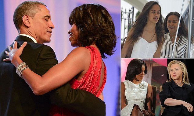 Michelle and Barack Obama could make $40m in book deals after leaving White House