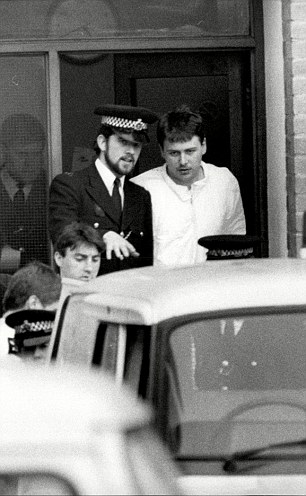 Martin McCall, right, the principal rapist, was given just five years in prison for the crime while gang leader Robert Horscroft was jailed for 14 years for burglary