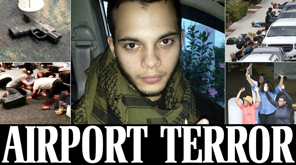 Fort Lauderdale airport shooting: Gunman Esteban Santiago kills at least 5 people