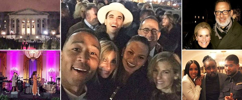 Inside the Obama's final star-studded party: Bash goes on until 4am with Meryl Streep,