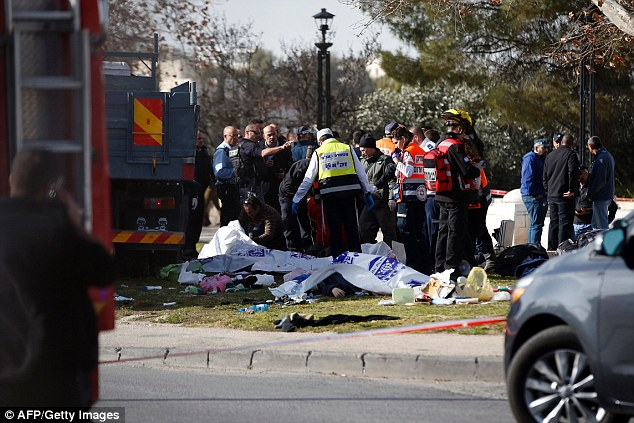 Some of the victims were believed to have been trapped under the truck after it came to a halt