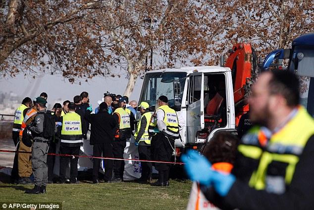 Hamas praised today's murderous attack describing the dead terrorist as 'heroic'