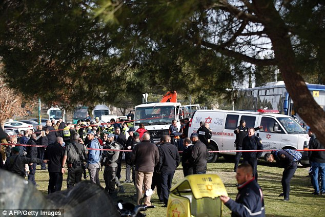 Israeli authorities have launched an investigation but have already termed it a terror attack