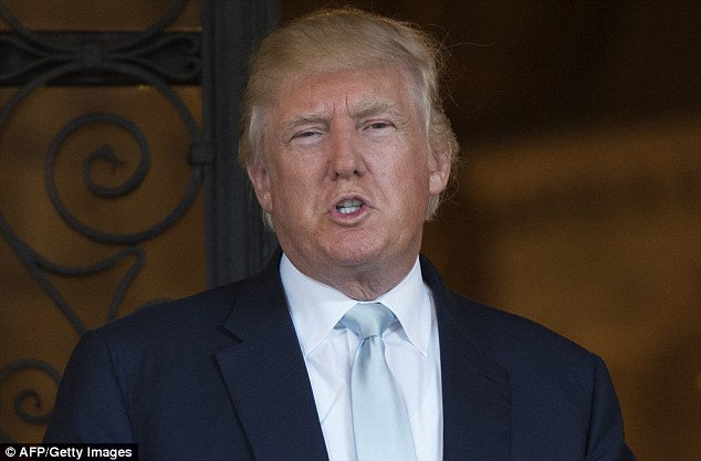 Trump hit back by describing Streep as 'one of the most over-rated actresses in Hollywood'