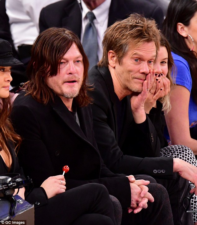 Kevin Bacon And Daughter Sosie Join Norman Reedus For New