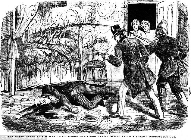 Otra posible víctima era relojero Robert Westwood, muerto en junio de 1839, después de su garganta fue cortada y su ropa se prende fuego, llamando la atención de la policía y los bomberos. Dr. Bondeson cree Courvosier era responsable. La muerte es la foto en un dibujo animado en el noticias ilustradas de Policía a partir de enero 1889