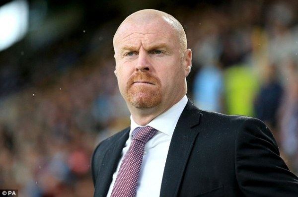 Burnley boss Sean Dyche backs the Clarets to cope with ...