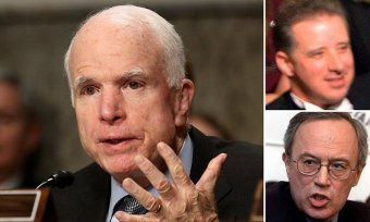 Extraordinary details on how John McCain got dirty dossier from ex-spy