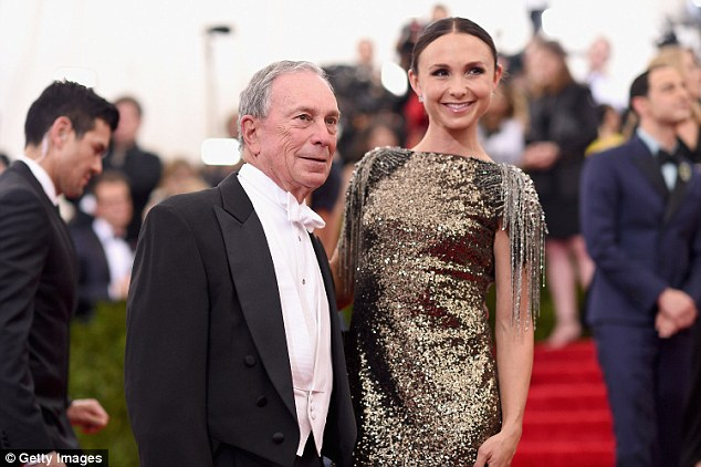 Georgina Bloomberg is the younger daughter of billionaire and former New York City Mayor Michael Bloomberg (left). She once criticized New York's animal shelter system as a 'failure'