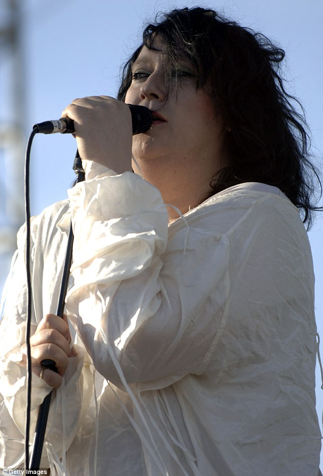 Talented: Anohni, who was born in Britain but grew up in the United States, won wide praise starting with Antony and the Johnsons' hauntingly dark 2005 album 'I Am a Bird Now,' which won Britain's Mercury Prize