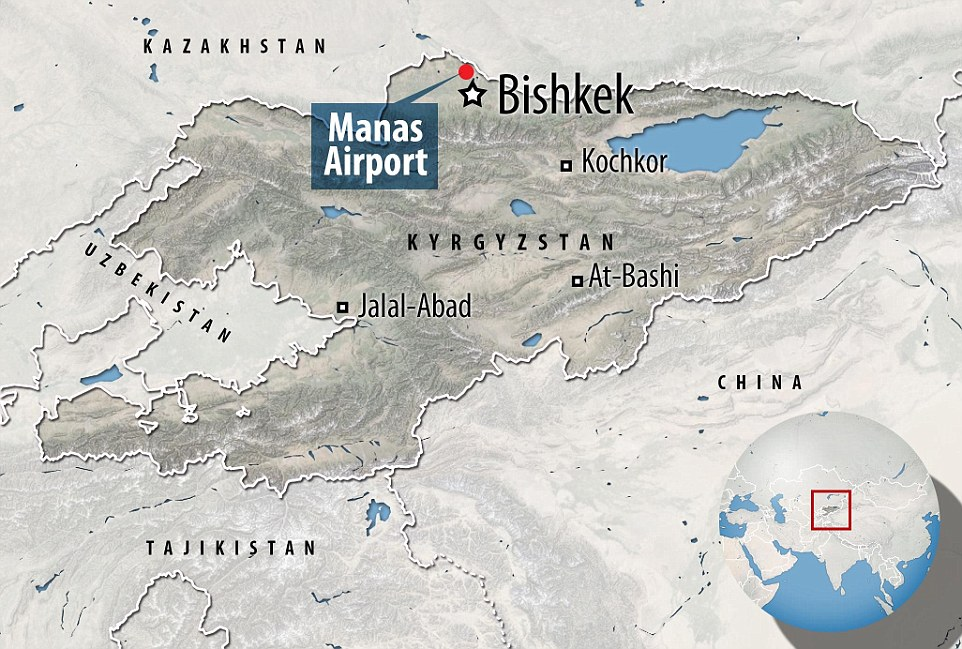 The cargo plane, which was attempting to make a refuelling stop on its way from Hong Kong to Istanbul, crash-landed in heavy fog just outside Manas airport, south of the Kyrgyzstan capital Bishkek