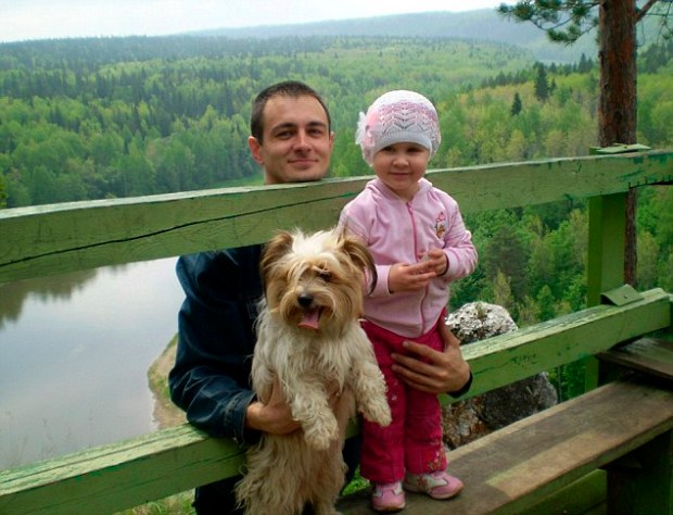 Alexander Urusov and his wife wanted to take Tori with them but at check-in for their flight to Hamburg were told they had failed to complete the necessary paperwork in time