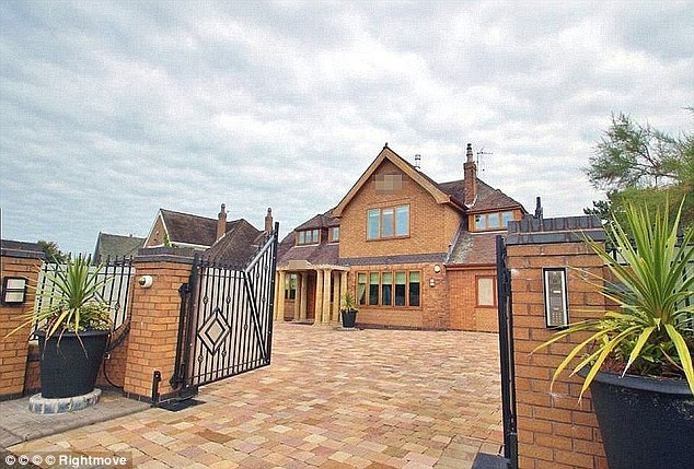 Sterling took his former Birkdale home off the market before Christmas after failing to sell it