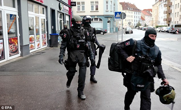 Islamist suspects arrested in Austria were planning to establish a caliphate in the country, police have claimed  (file picture)